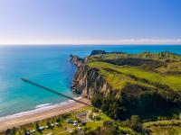 Optional excursion in Gisborne - Tolaga Bay & hike to Cooks Cove