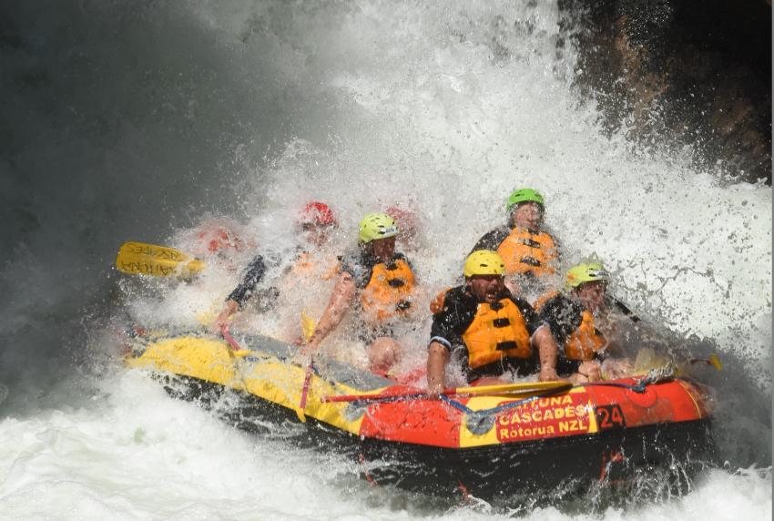 Optional Excursion: River rafting on Kaituna River